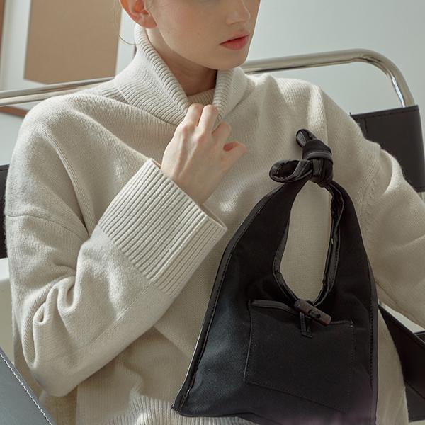 [무이쿠이]moiqui I-쥬이 미니백(b_blk)  미니 캔버스백 여성가방