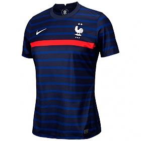 나이키 반팔저지 우먼스 프랑스 2020 브리드 스타디움 홈 저지 S/S_CD0897-498