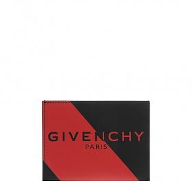 [지방시]20FW BK6003K10D 009 블랙 레드 로고 카드 홀더