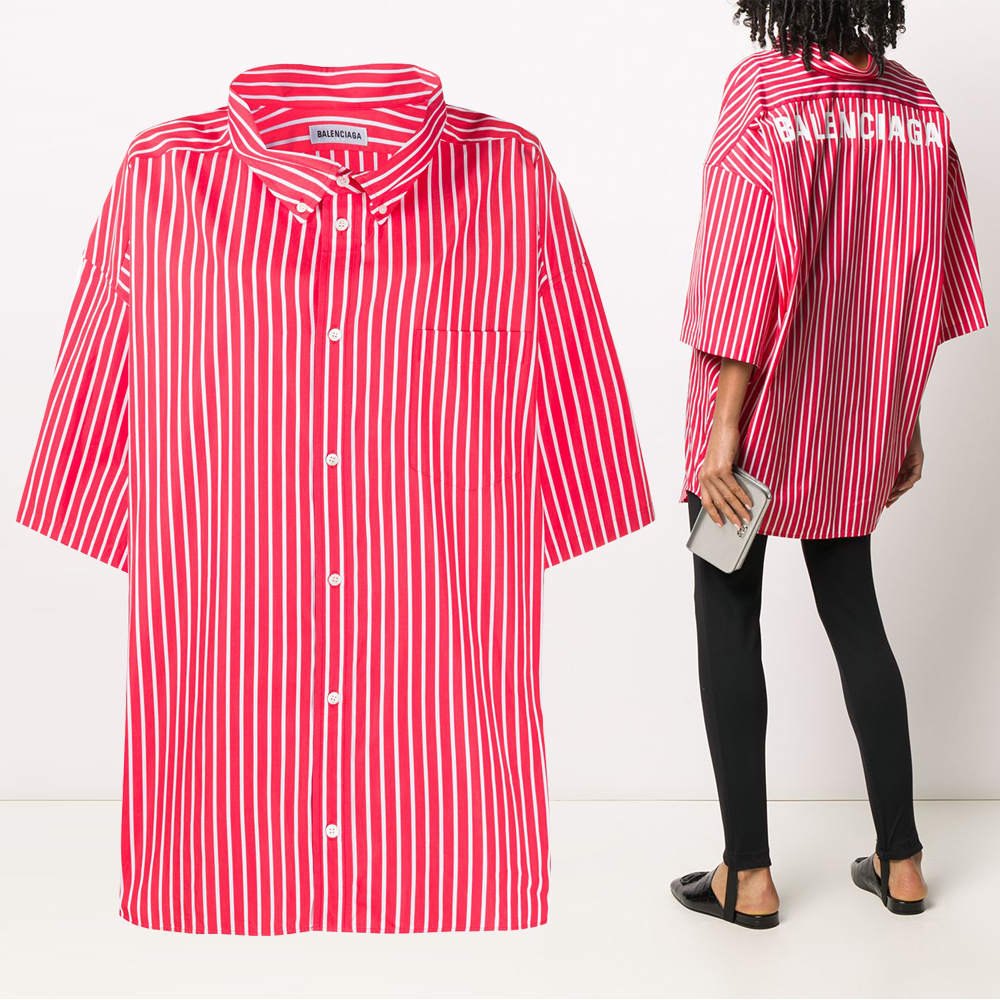20FW 여성 코쿤 스윙 오버핏 셔츠 622051 TIM22 6540