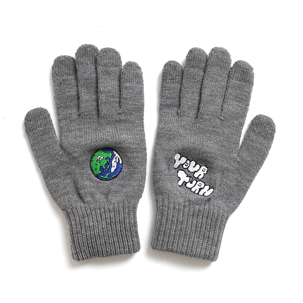 [EZwithPIECE] EARTH SMART GLOVES (GREY)