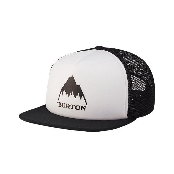 버튼 I-80 TRUCKER HAT STOUT WHITE 모자