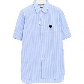 당일출고)꼼데가르송 AZ-B022 스트라이프 반팔 셔츠