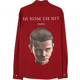 당일출고)이놈어닛 NUS20266 590 일레븐 백프린팅셔츠