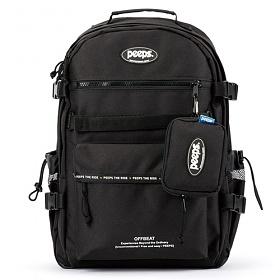 핍스 PEEPS offbeat backpack(black)