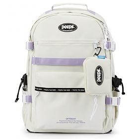 핍스 PEEPS offbeat backpack(ivory)