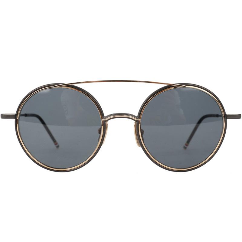 당일출고)톰브라운 TB108ATBLKGLD50 티타늄 선글라스