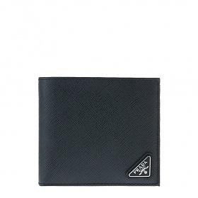 [프라다]20FW 2MO513 QHH F0216 네이비 사피아노 삼각로고 반지갑
