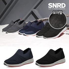 [SNRD] 패딩슬립온  방한화 털신발 스니커즈 운동화 털슬립온 SN514