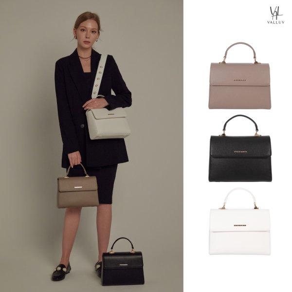 [밸럽]VALLUV - 르몽(3colors) 숄더백 토트백 여성가방