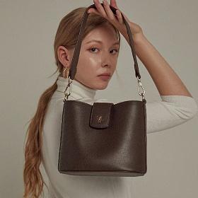 [11/5 예약발송]밸럽 나르(Dark Brown) 크로스백 여성가방