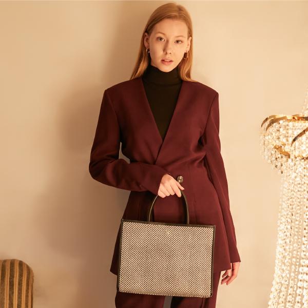 밸럽 헤로스(Black) 숄더백 토트백 여성가방