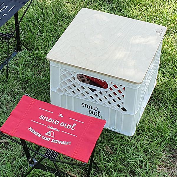 스노우아울 밀크 박스