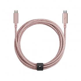BELT CABLE PRO ROSE (USB-C TO USB-C)_BELT-C-ROS-PRO-NP