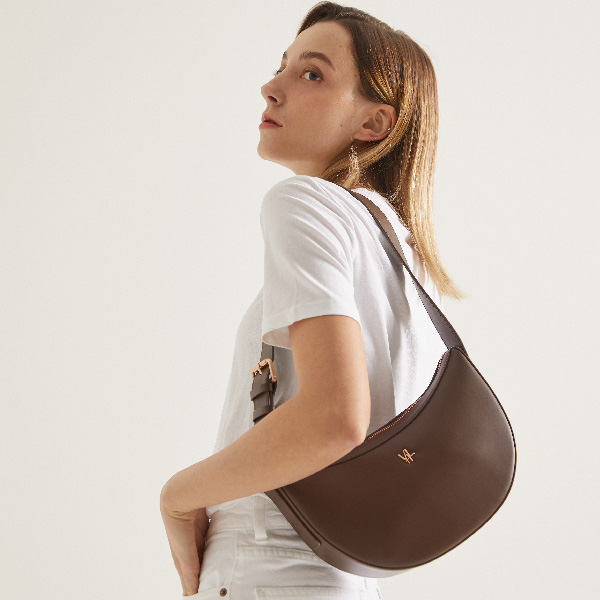 [21SS]밸럽 로보에(Dark Brown) 여성가방