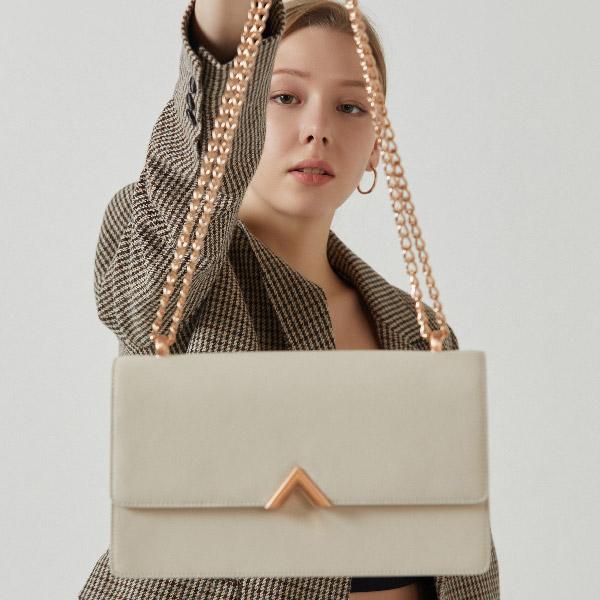 [21SS] 밸럽 에데로(White Beige) 여성가방