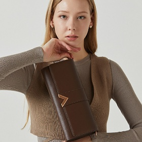 [21SS]밸럽 클루아(Dark Brown) 여성가방