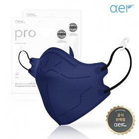 aer[공식판매원] 아에르 프로 컬러마스크 네이비 10매