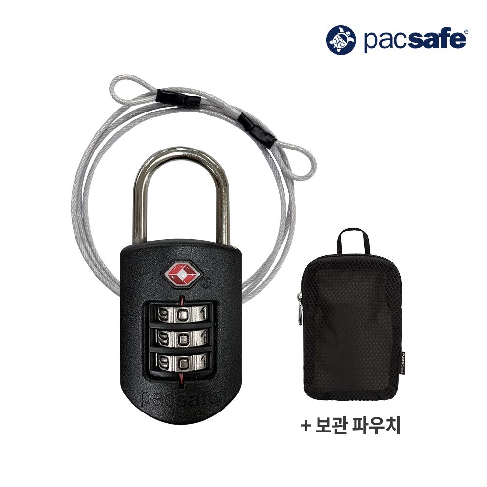 [사은품 증정]팩세이프 TSA 콤비 와이어 자물쇠