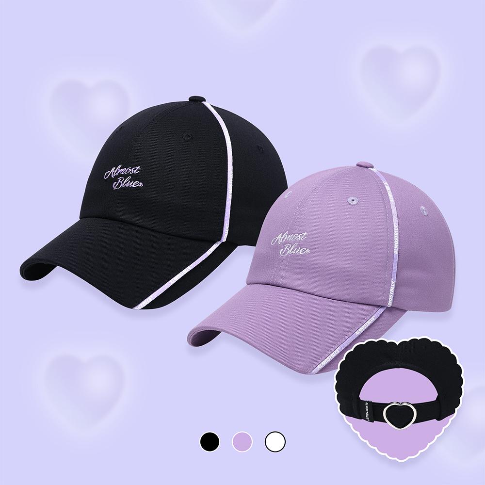 얼모스트블루 CANDY BALL CAP 캔디 볼캡