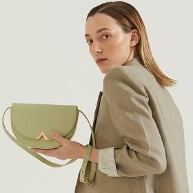 [21SS]밸럽 오브(Light Green) 여성가방