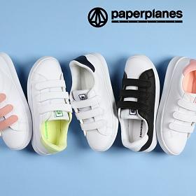 페이퍼플레인 신발 스니커즈 벨크로 단화 PP1494