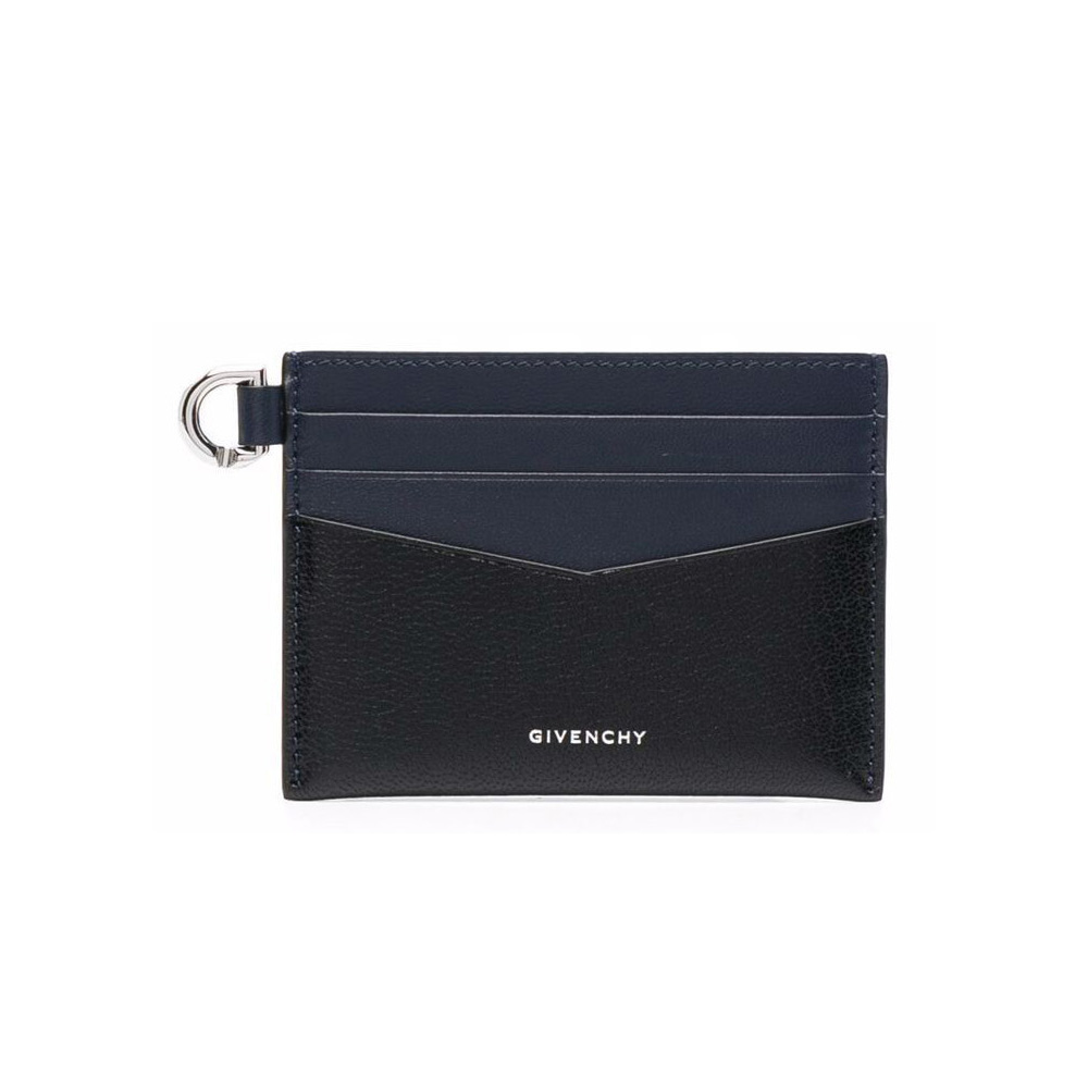 21FW 투톤 엣지 카드지갑 블랙/네이비 BB60H0B15P 001