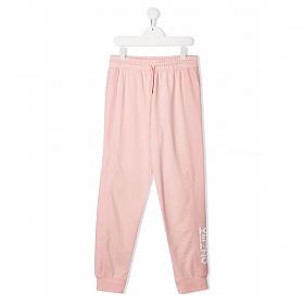 21SS 키즈 여성 프린트 조깅 팬츠 핑크 K14024 461