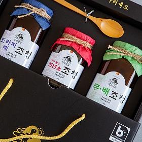 천수누리 천수보감 수제조청 선물세트 1호