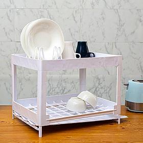 리빙블럭 싱크대 DIY 설거지 식기건조대 1단 특대형