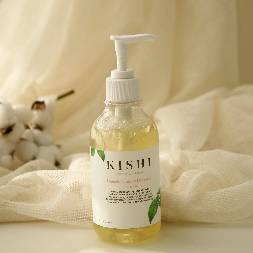 키쉬 프리미엄 식물성 여성속옷세제 300mlx3개