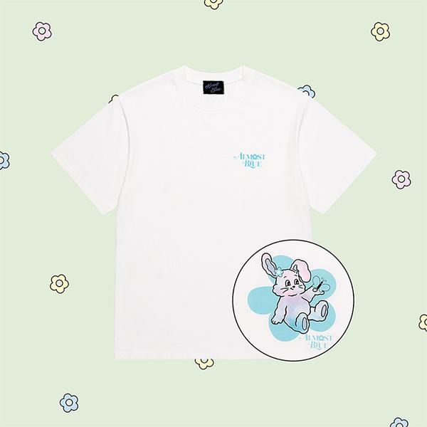 얼모스트블루 SLEEPING CANDY T-SHIRTS 슬리핑 캔디 반팔 티셔츠