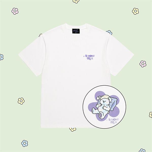 얼모스트블루 SLEEPING SODA T-SHIRTS 슬리핑 소다 반팔 티셔츠