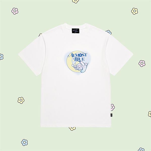얼모스트블루 DREAMING CANDY T-SHIRTS 드리밍 캔디 반팔 티셔츠