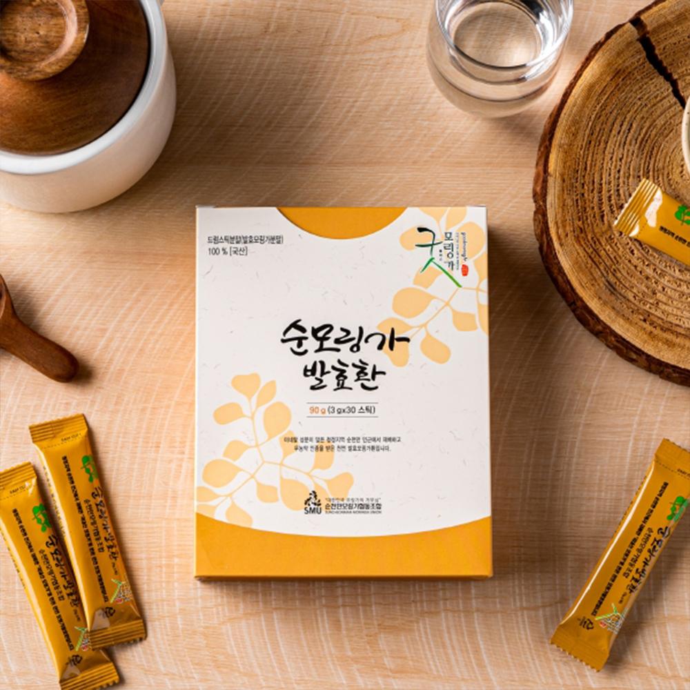 순천만모링가 국내산 순모링가 발효환 스틱 3gx30개