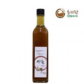 초사랑 천연발효식초 마늘식초 500ml