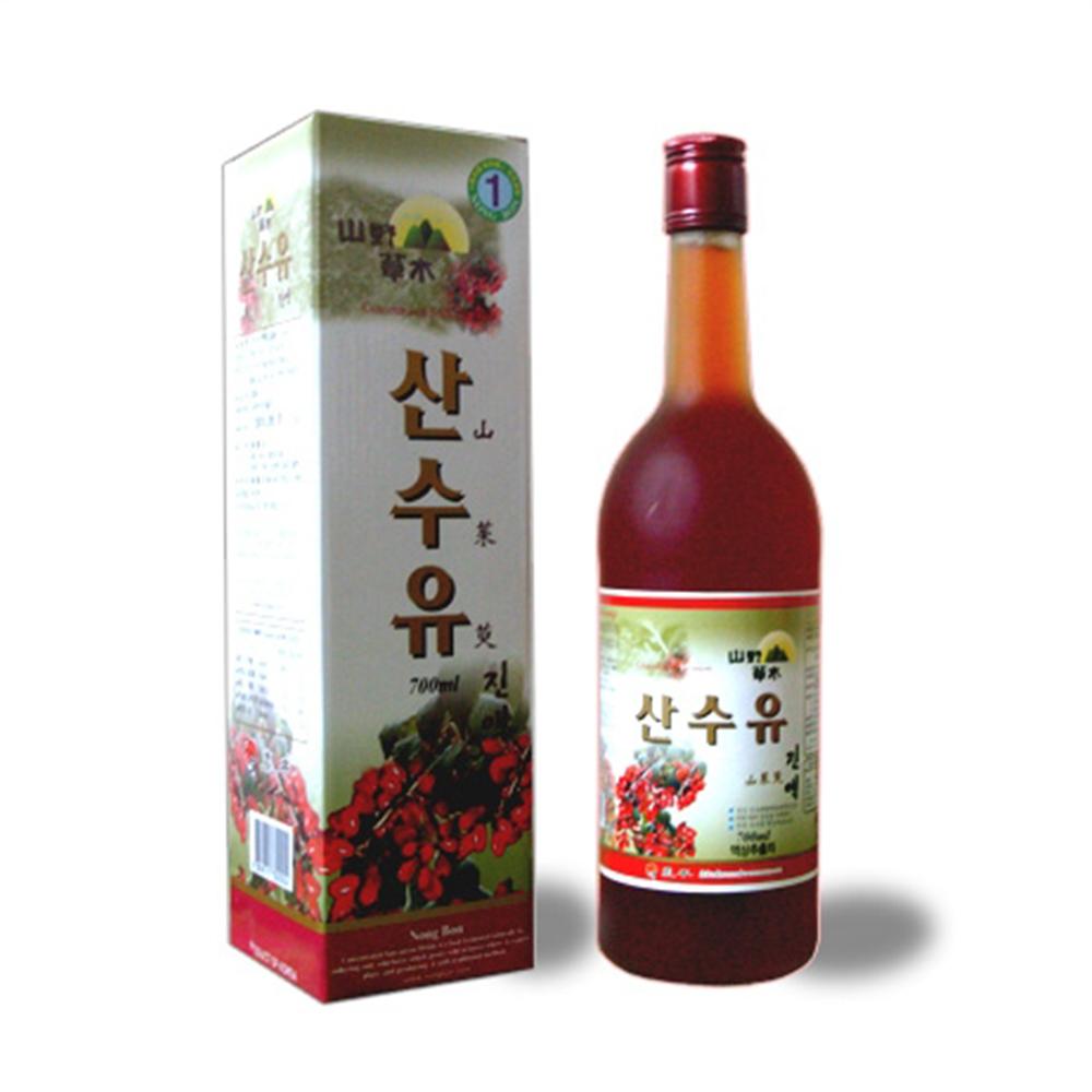 농본 신비의열매 산수유진액 740ml x 1병