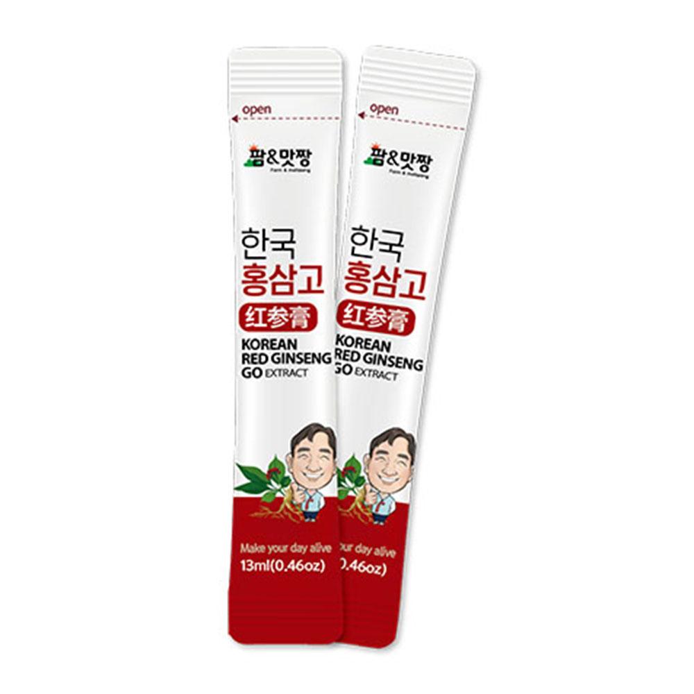금성티케이 팜맛짱 홍삼고 홍삼농축액스틱 13gx20개