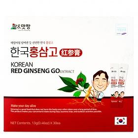 금성티케이 팜맛짱 홍삼농축액 선물세트 13gx30개