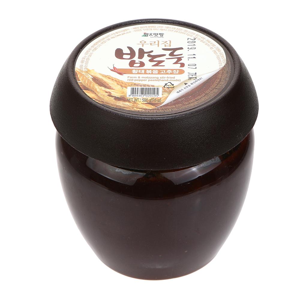 금성티케이 팜맛짱 황태볶음고추장 500g