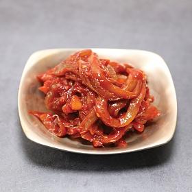 북하특품사업단 삼채오징어 젓갈 400g