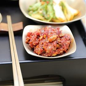 북하특품사업단 삼채오징어비빔 젓갈 400g