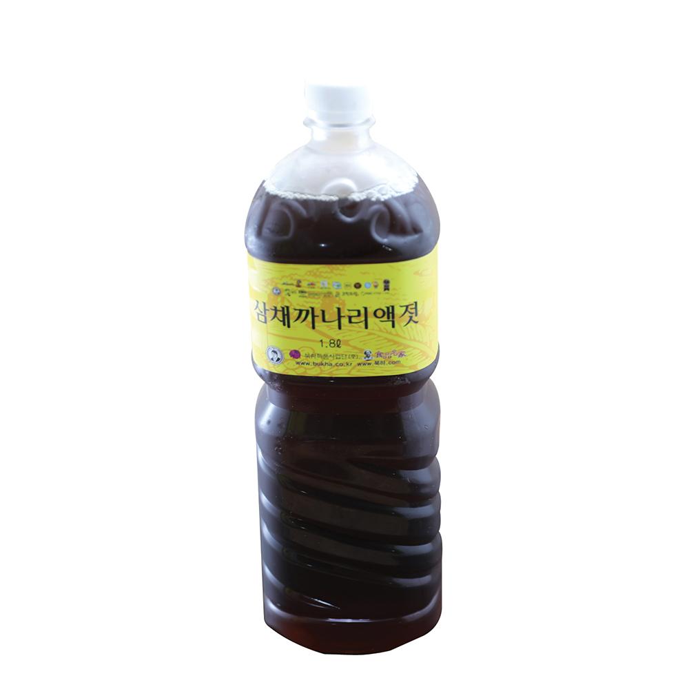 북하특품사업단 삼채까나리 액젓 1.8L