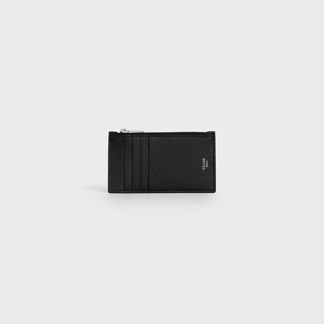 셀린느 지퍼 컴팩트 카드지갑 블랙 공용 10B683BEL 38SI