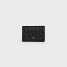 셀린느 카프스킨 카드 월릿 블랙 10G143BEL 38SI