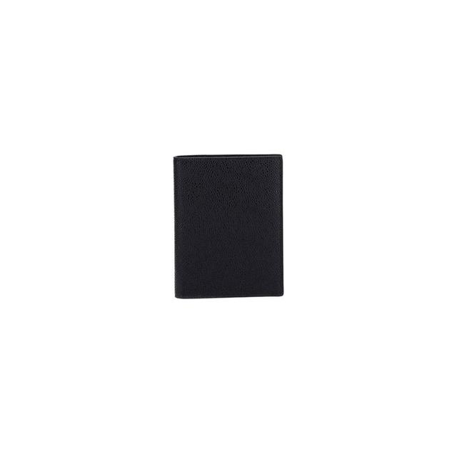 톰브라운 탭 페블 그레인 여권 지갑 블랙 공용 MAW034A 00198 001