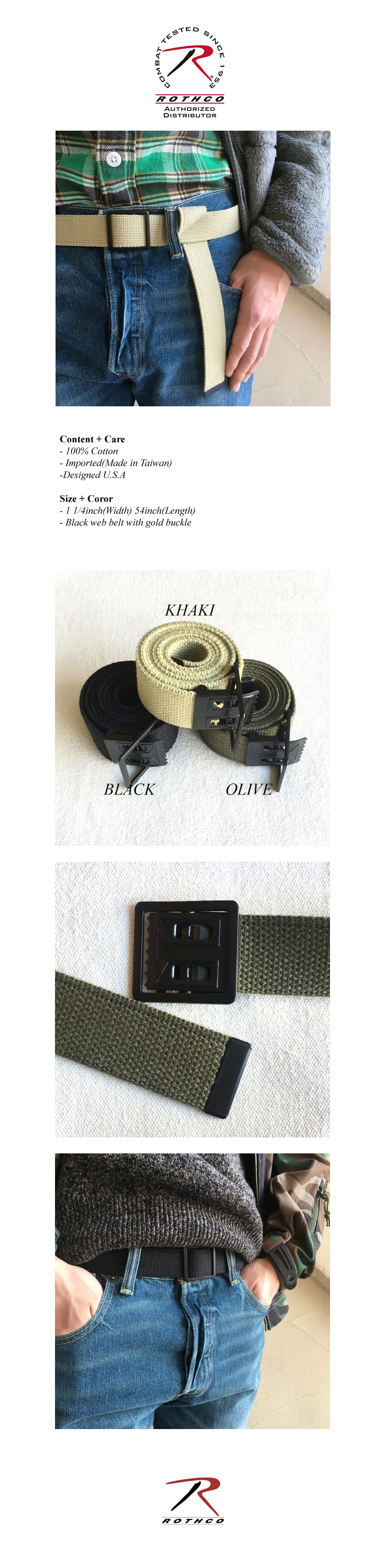 OPEN FACE WEB BELT (3 COLORS)
