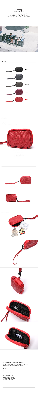 [에이치티엠엘]HTML - A3 pouch (RED) 가방 파우치